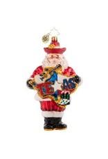 Radko His Heart Belongs to Texas Santa