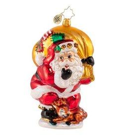 Radko Shhh! Don't Wake the Fawn Santa