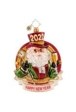 Radko Champagne Dreams 2022 Santa
