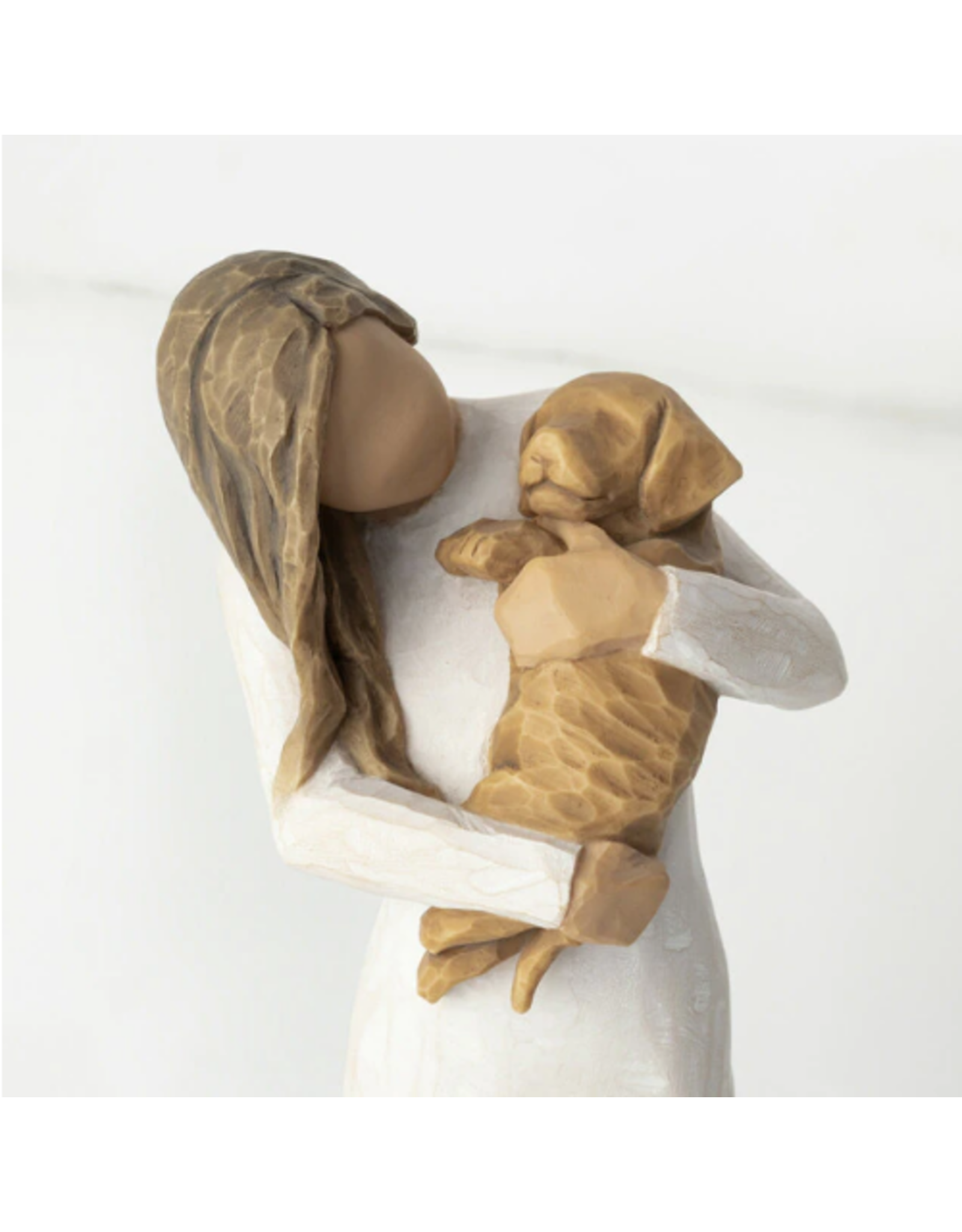 Willow Tree Adorable You (golden dog)