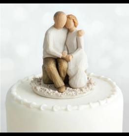 Willow Tree Anniversary (cake topper)