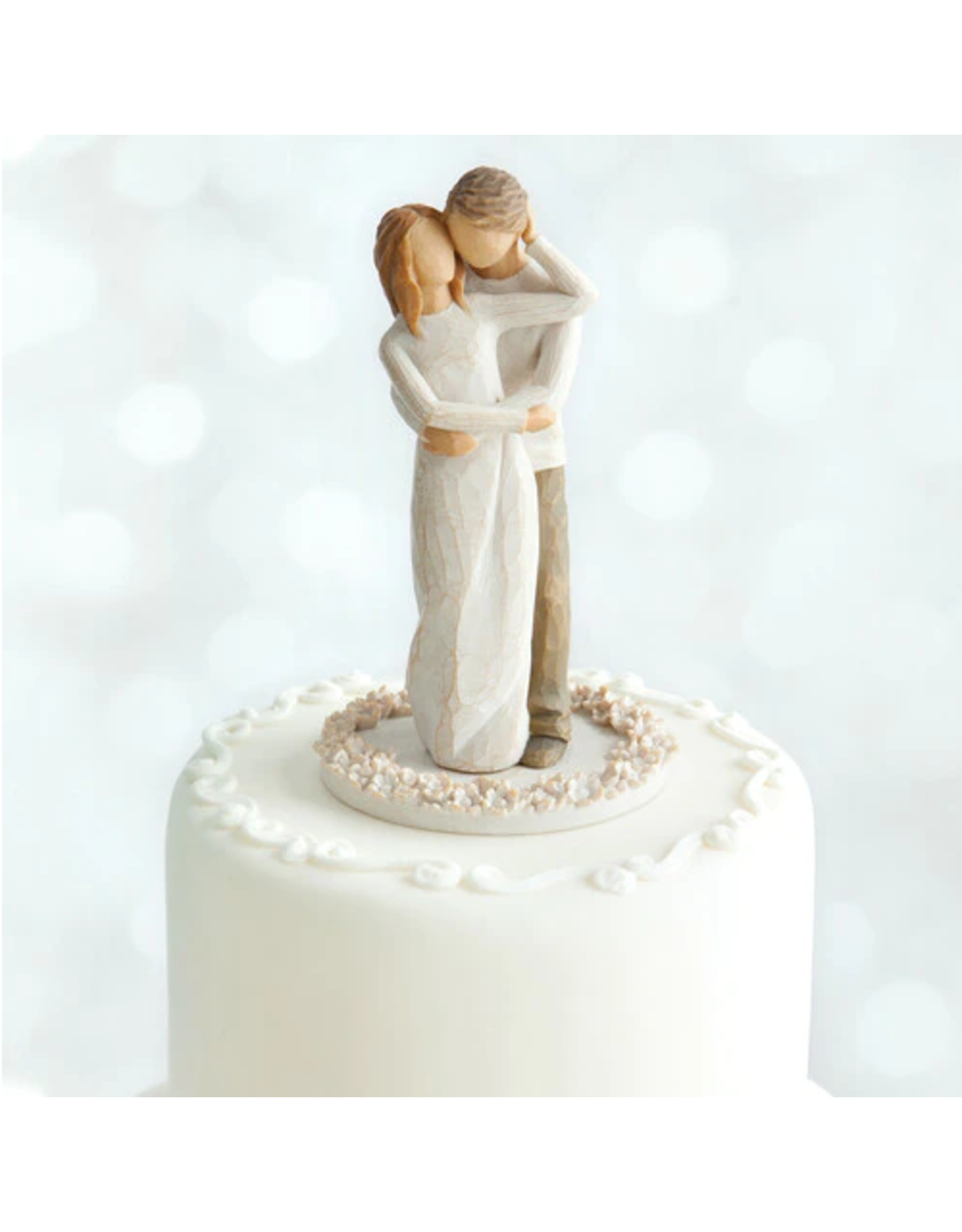 Willow Tree Together (cake topper)
