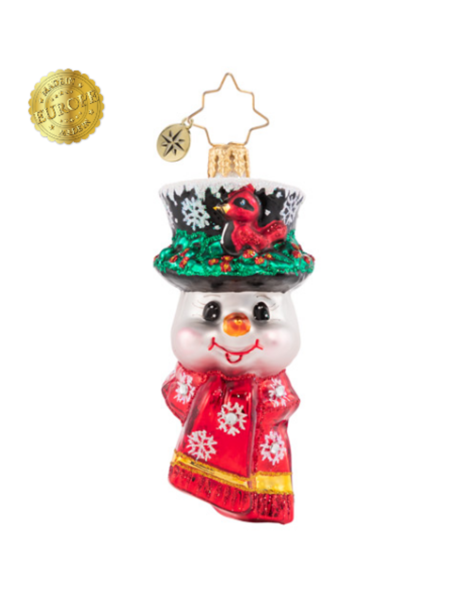 Radko A Snowman Worth Flocking To Gem