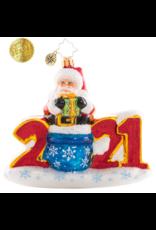 Radko Christmas Fun in 2021! Santa