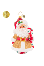 Radko Peppermint Dreams Santa