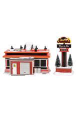 Department 56 Scooter's Diner