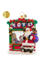 Radko Tip-Top Toy Shop Santa