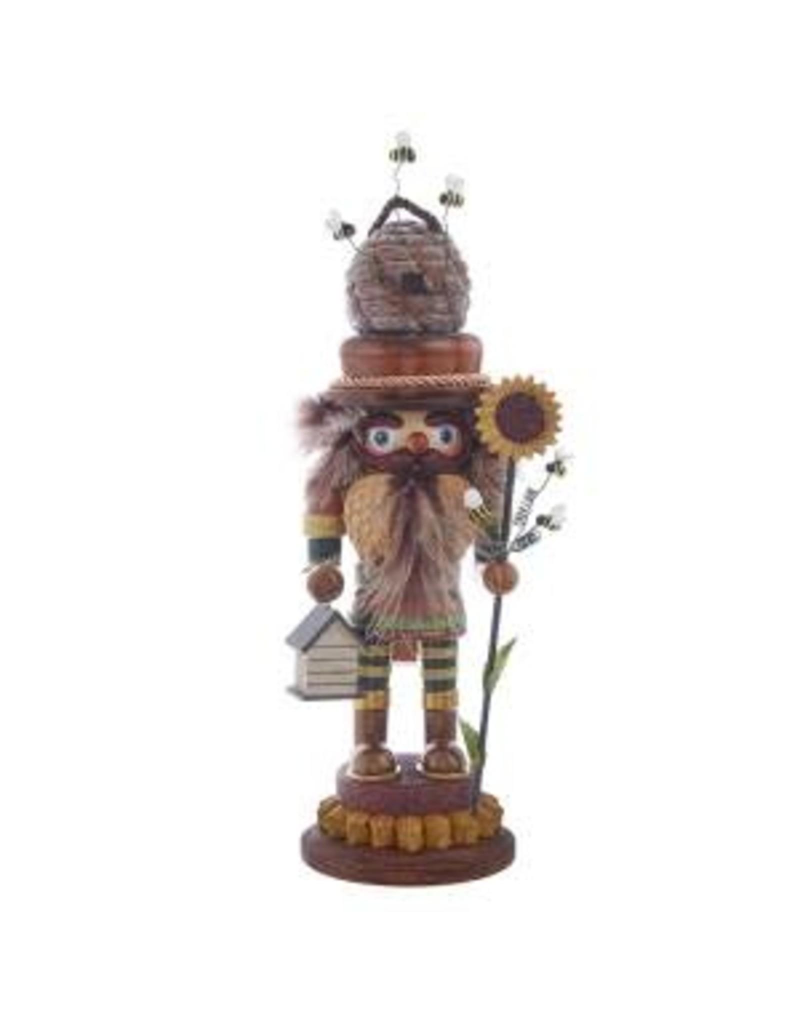 Kurt S. Adler Bee Keeper Nutcracker