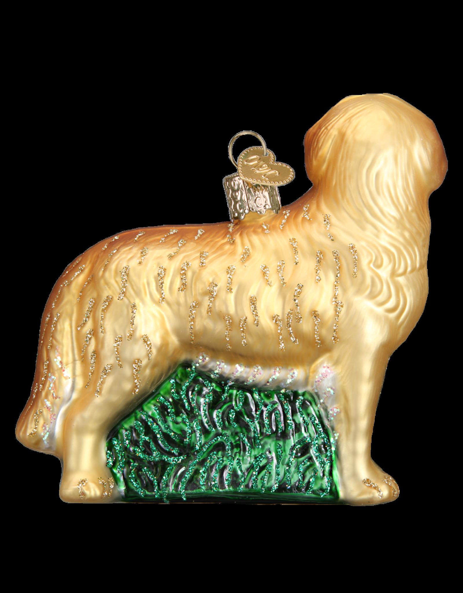 Old World Christmas Golden Retriever Ornament