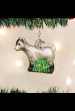 Old World Christmas Pygmy Goat Ornament