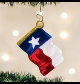 Old World Christmas Texas Flag Ornament