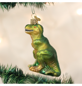 Old World Christmas T-rex Ornament