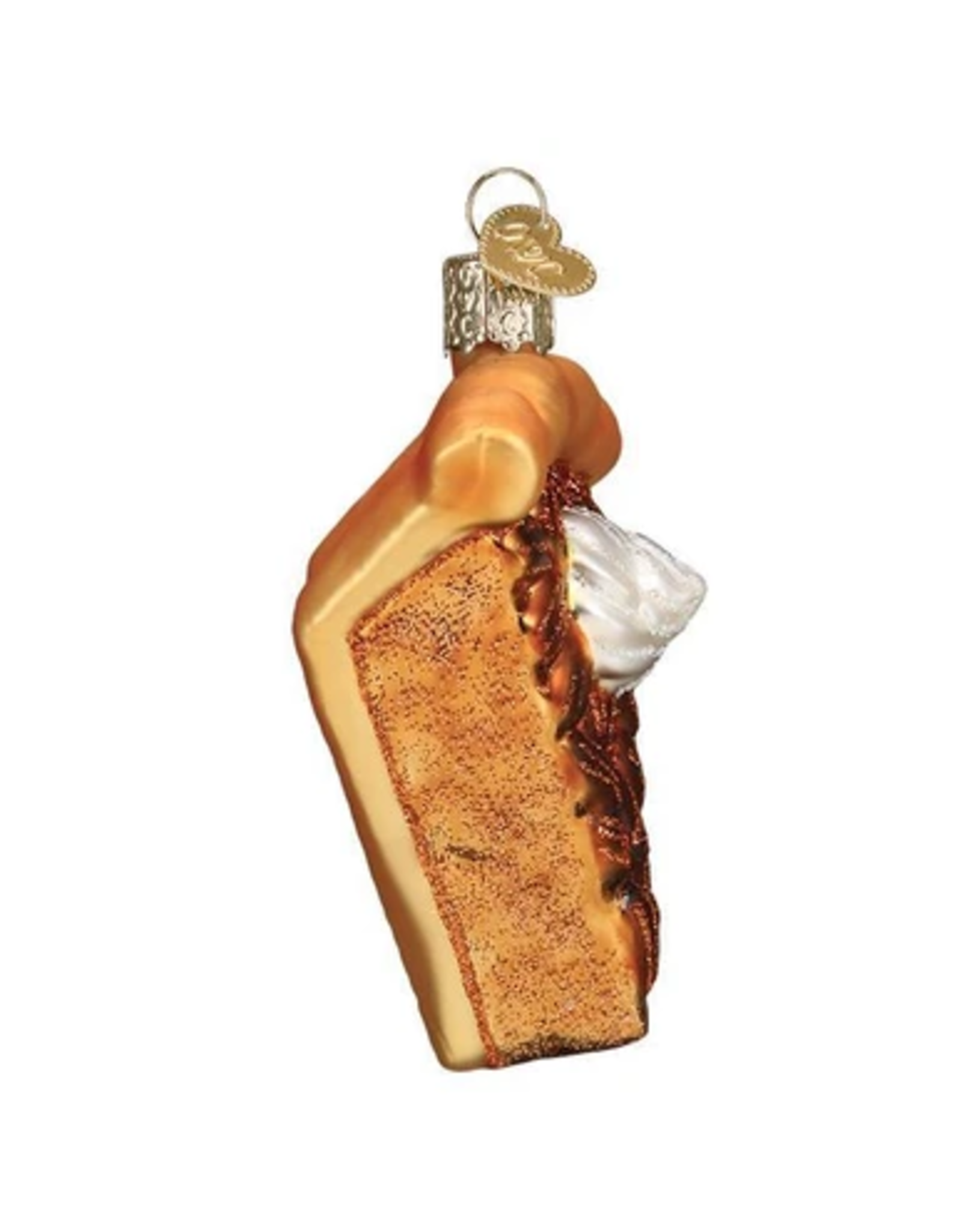 Old World Christmas Piece of Pecan Pie Ornament