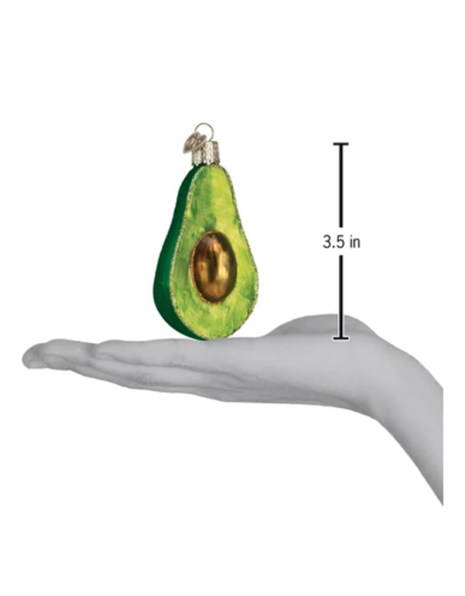 Old World Christmas Avocado Ornament