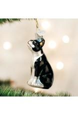 Old World Christmas Boston Terrier Ornament