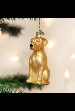 Old World Christmas Yellow Lab Ornament