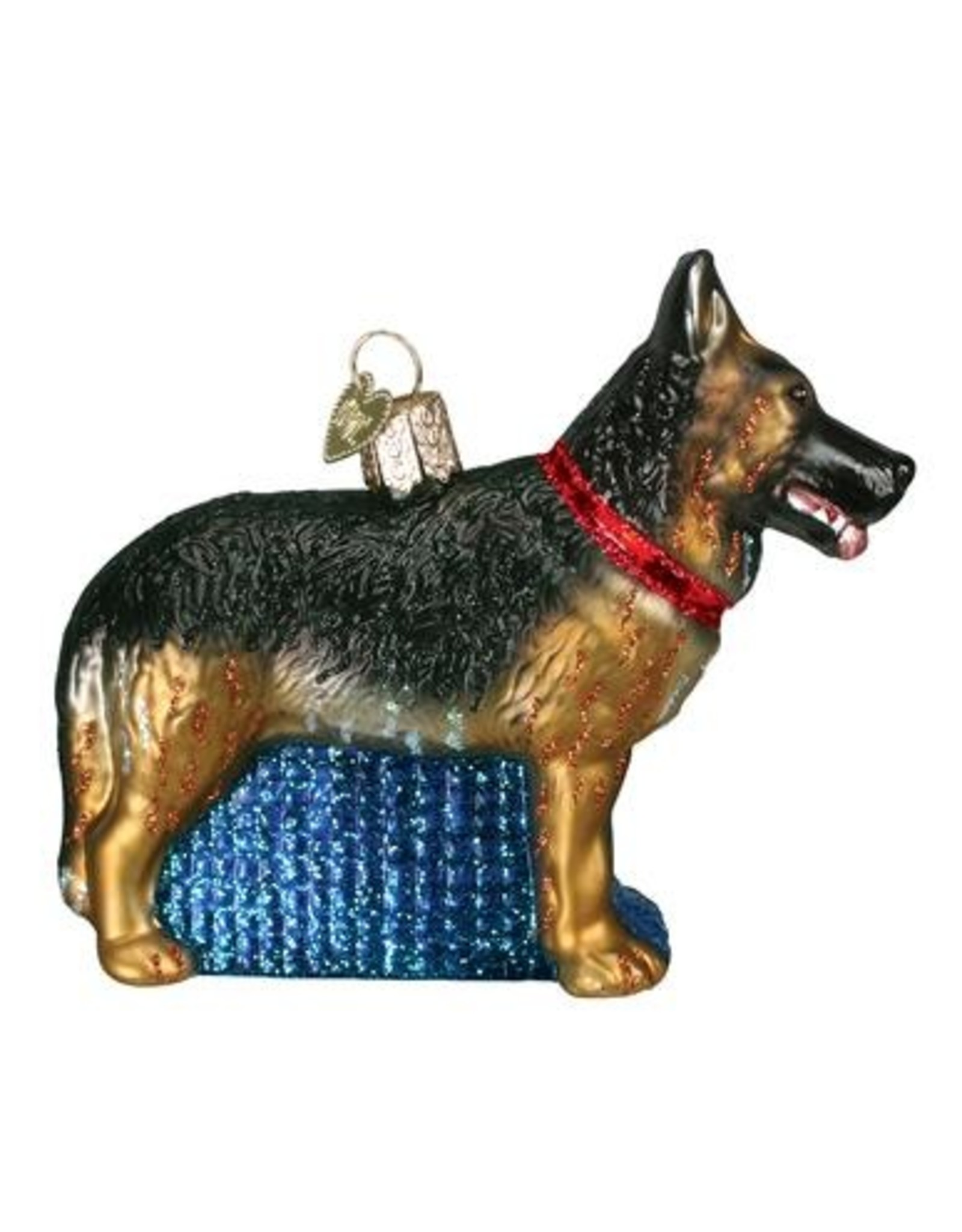 Old World Christmas German Shepherd Ornament