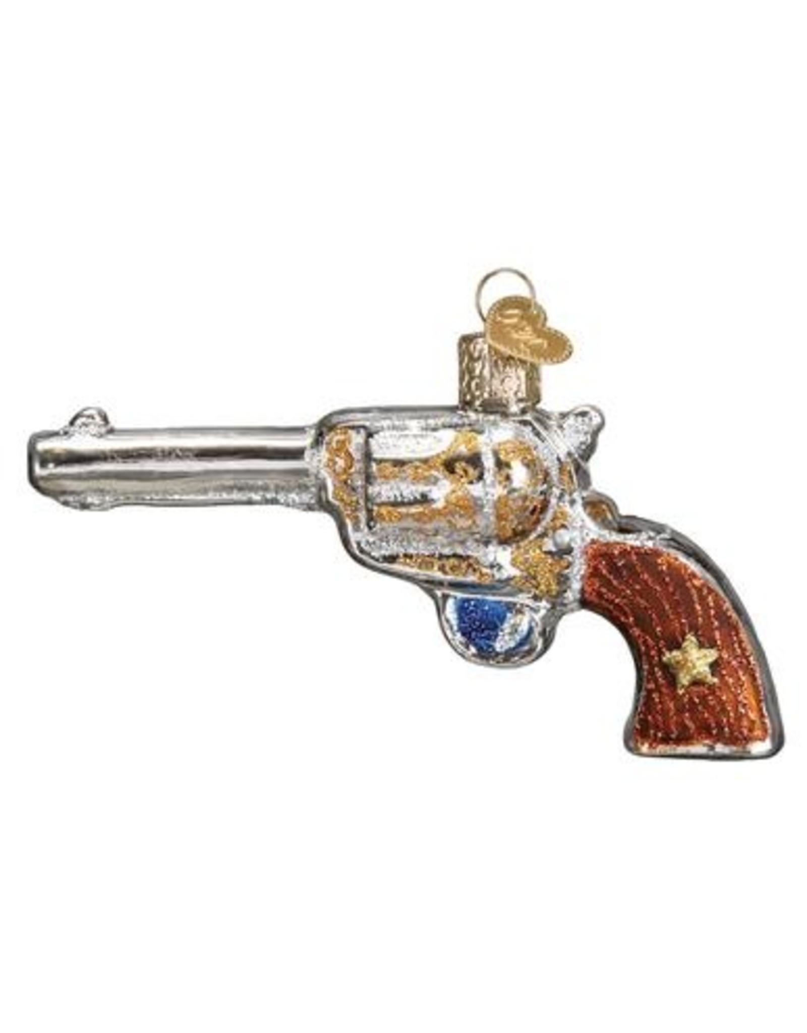 Old World Christmas Western Revolver Ornament