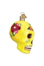 Old World Christmas Sugar Skull Ornament