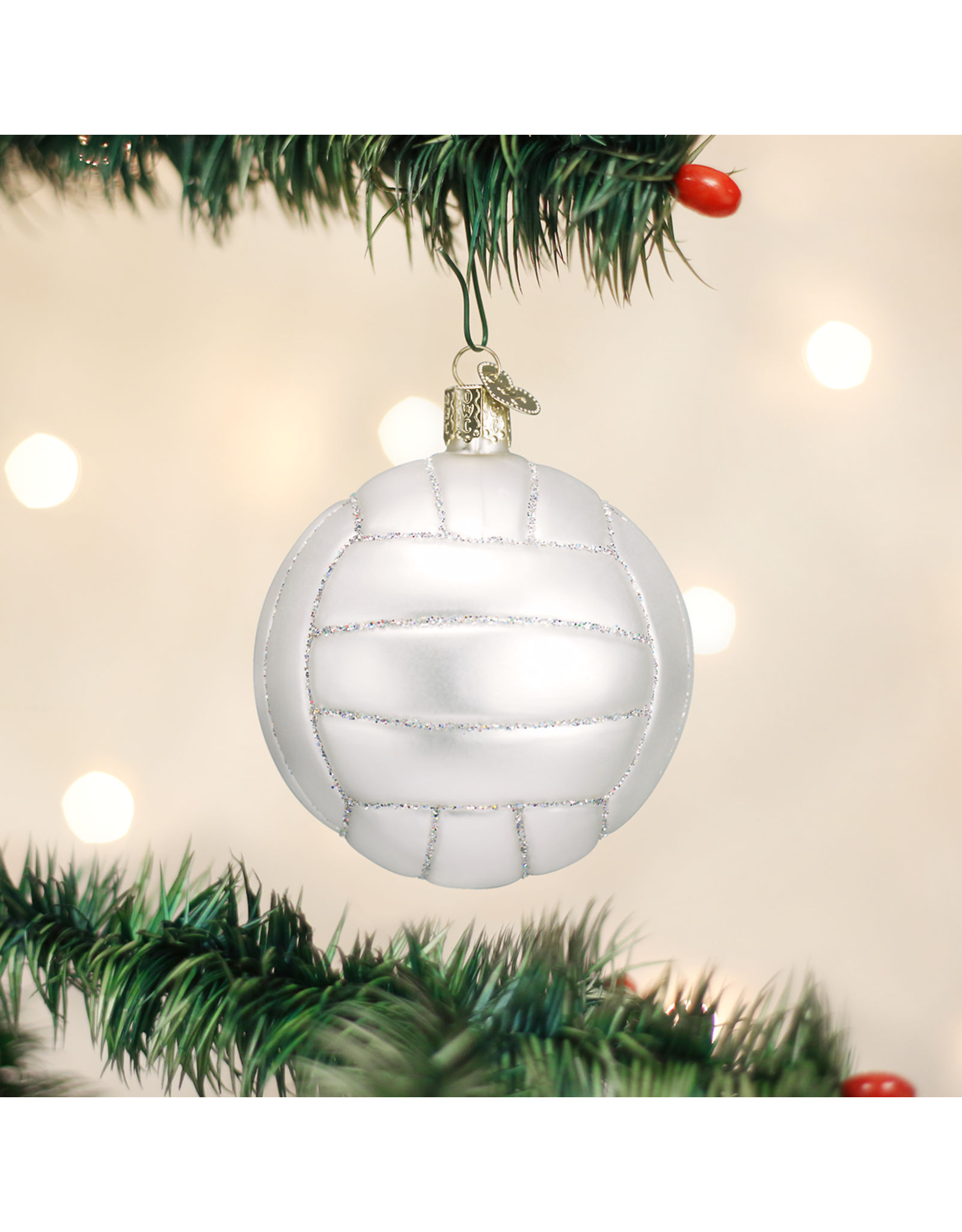 Old World Christmas Volleyball Ornament