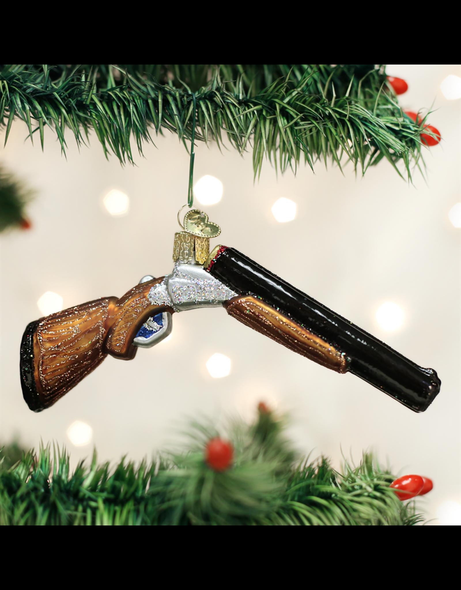 Old World Christmas Shotgun Ornament