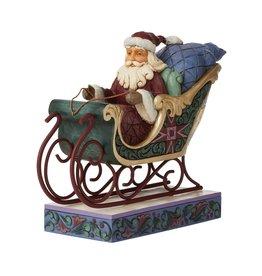 Jim Shore Journey Around the World Santa