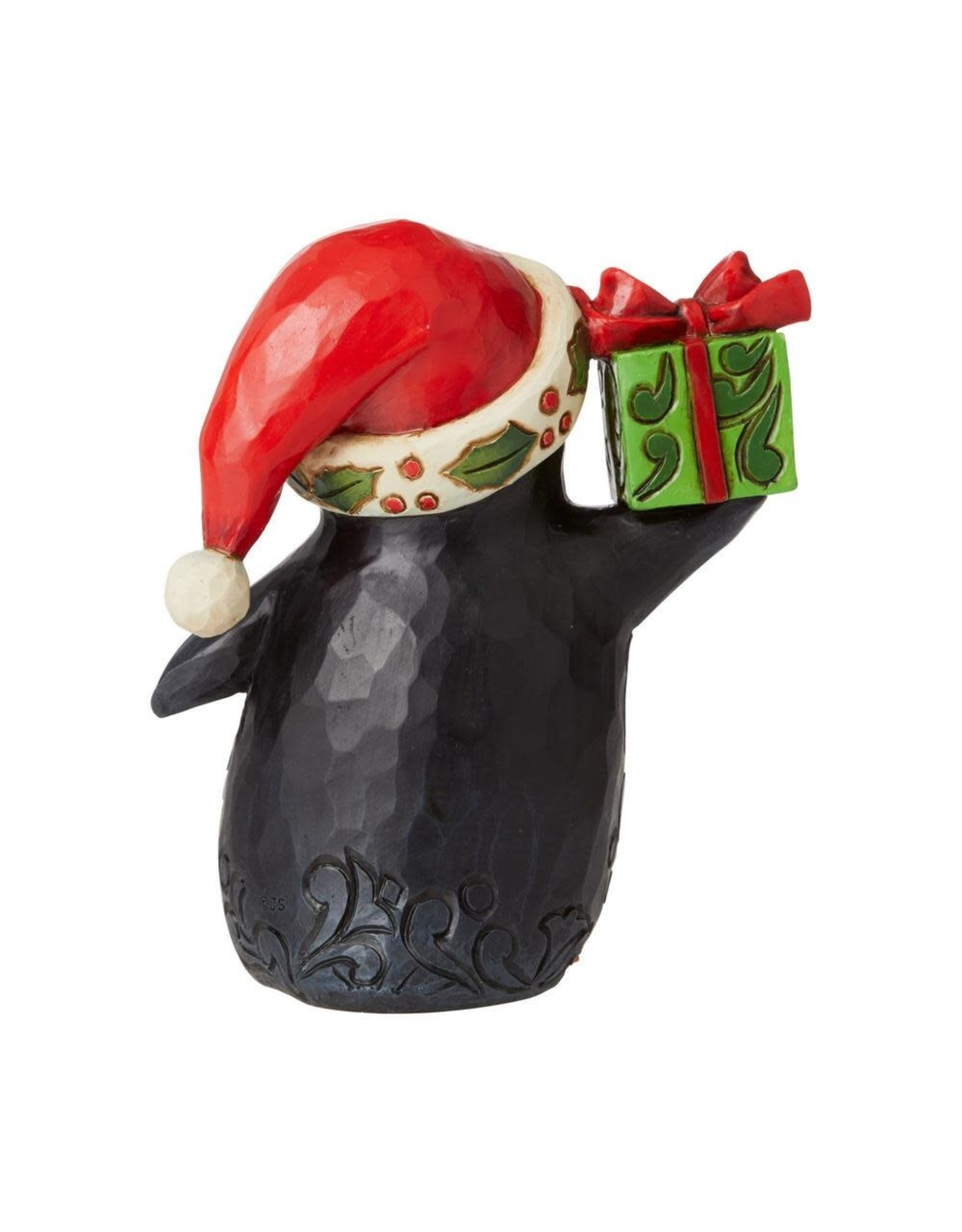 Jim Shore Waddle It Be For Christmas Penguin