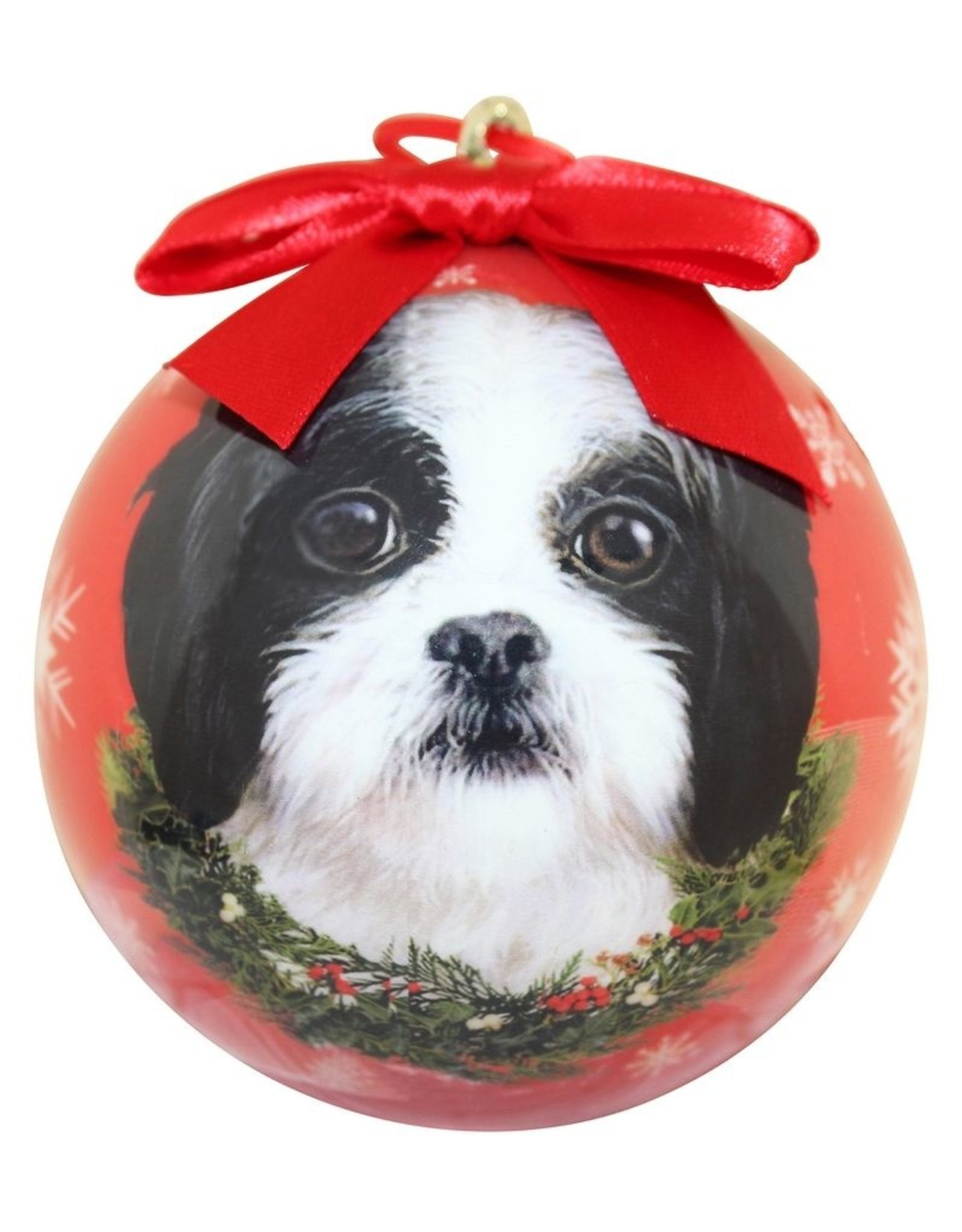E&S Pets Shih Tzu Ball Ornament