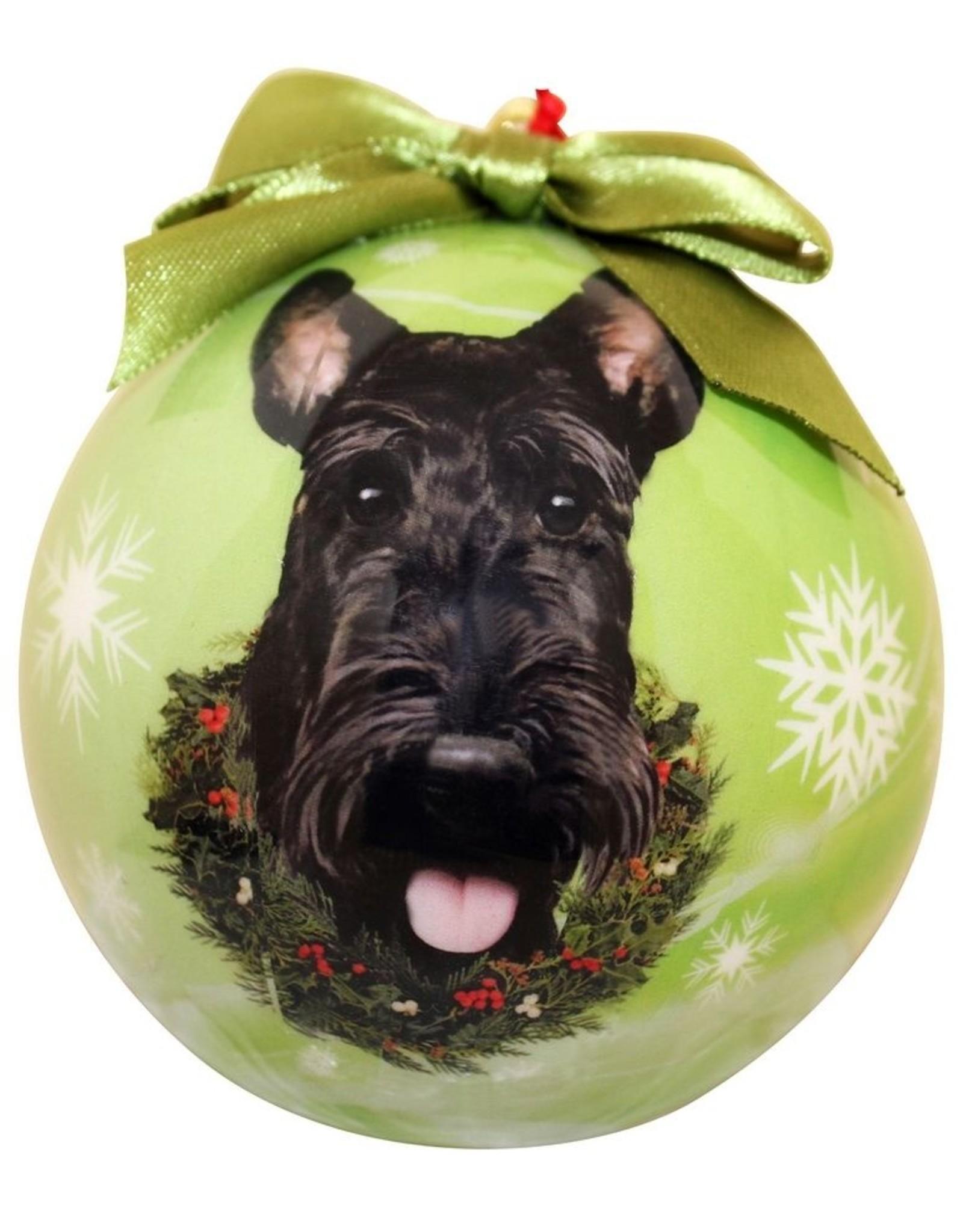 E&S Pets Scottie Ball Ornament
