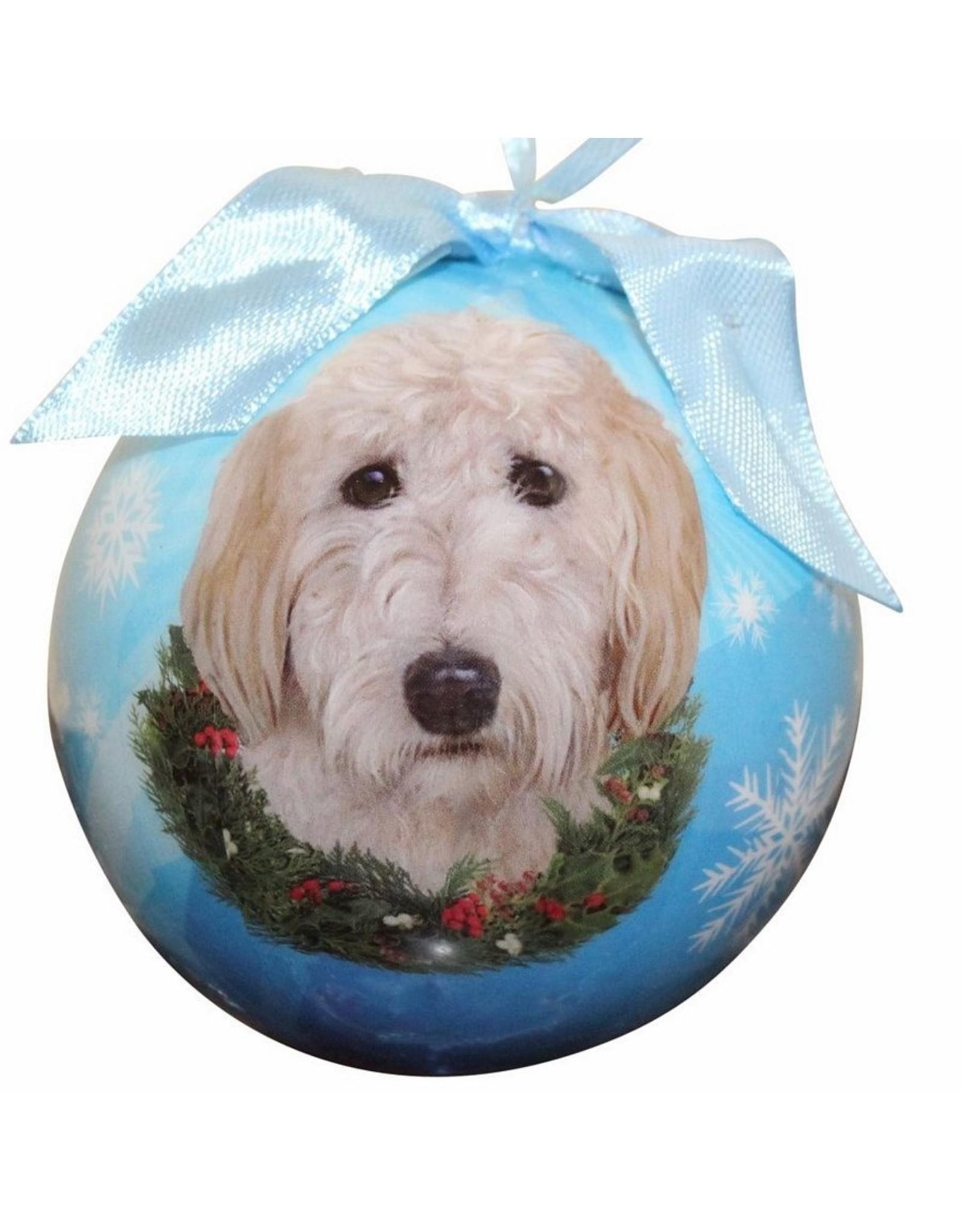 E&S Pets Goldendoodle Ball Ornament
