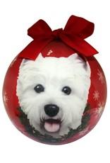 E&S Pets Westie Ball Ornament