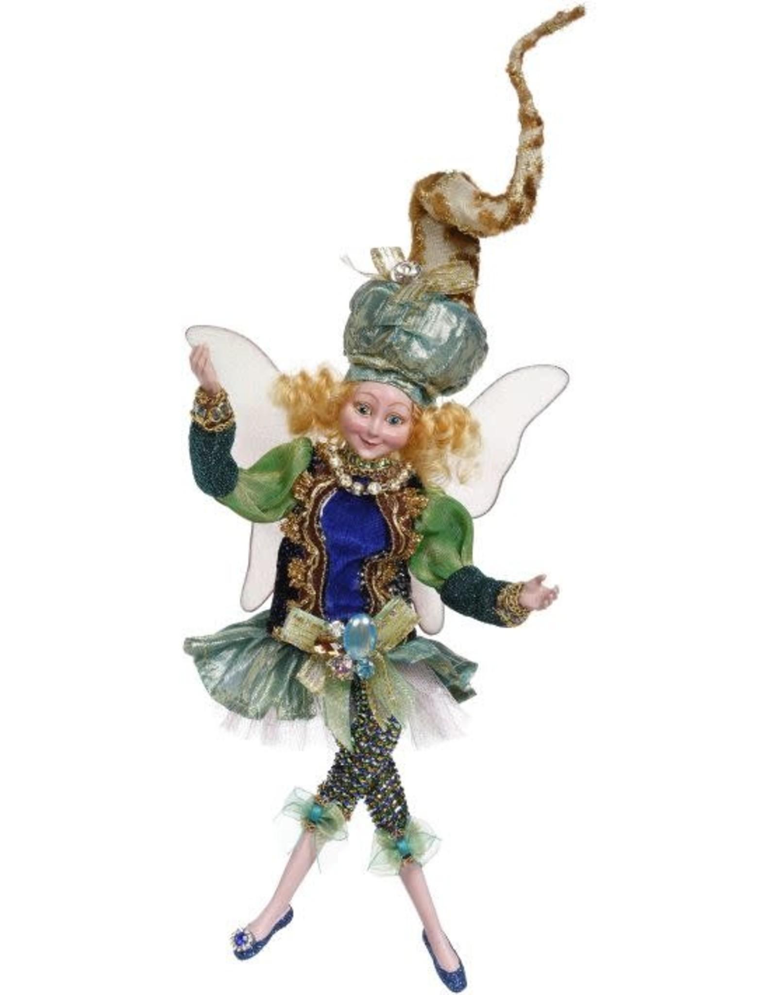 Mark Roberts Small Peacock Jewels Girl Fairy