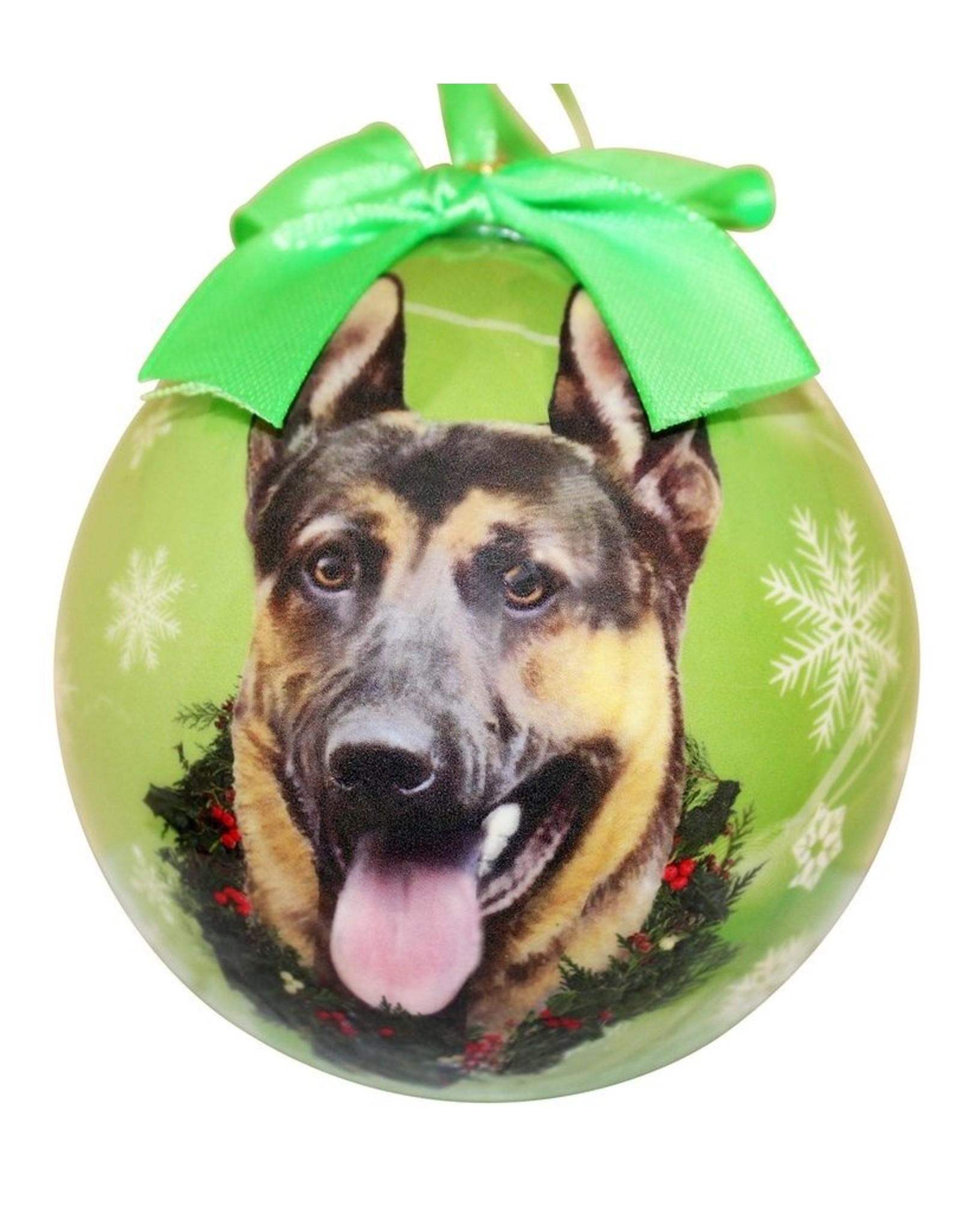 E&S Pets German Shepherd Ball Ornament
