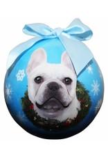 E&S Pets French Bulldog Ball Ornament