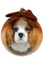 E&S Pets King Charles Cavalier Ball Ornament