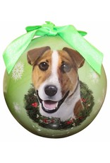 E&S Pets Jack Russell Ball Ornament