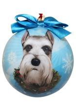 E&S Pets Schnauzer Ball Ornament