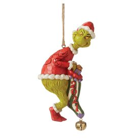Jim Shore 2021 Grinch With Stocking Ornament