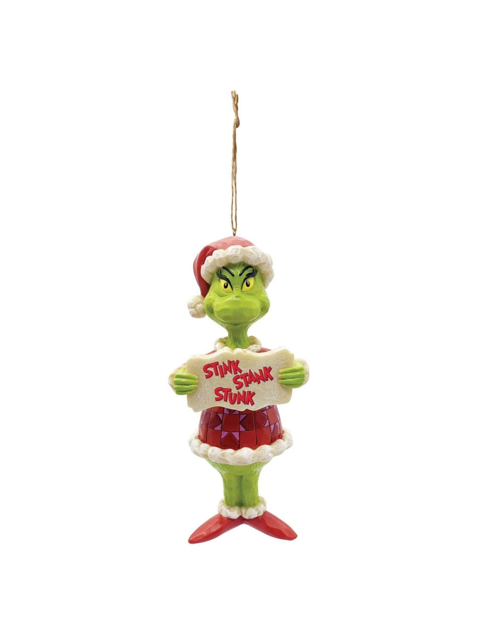 Jim Shore Grinch Stink Stank Stunk Ornament