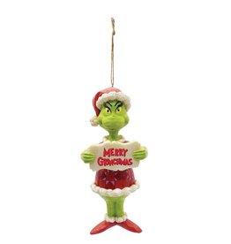 Jim Shore Merry Grinchmas Ornament