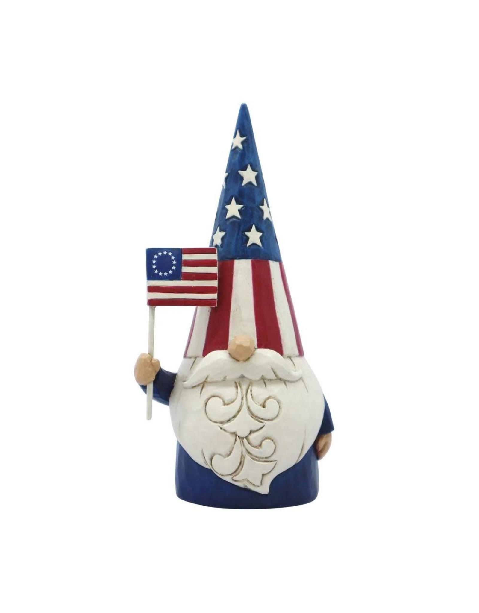 Jim Shore Star Spangled Gnome