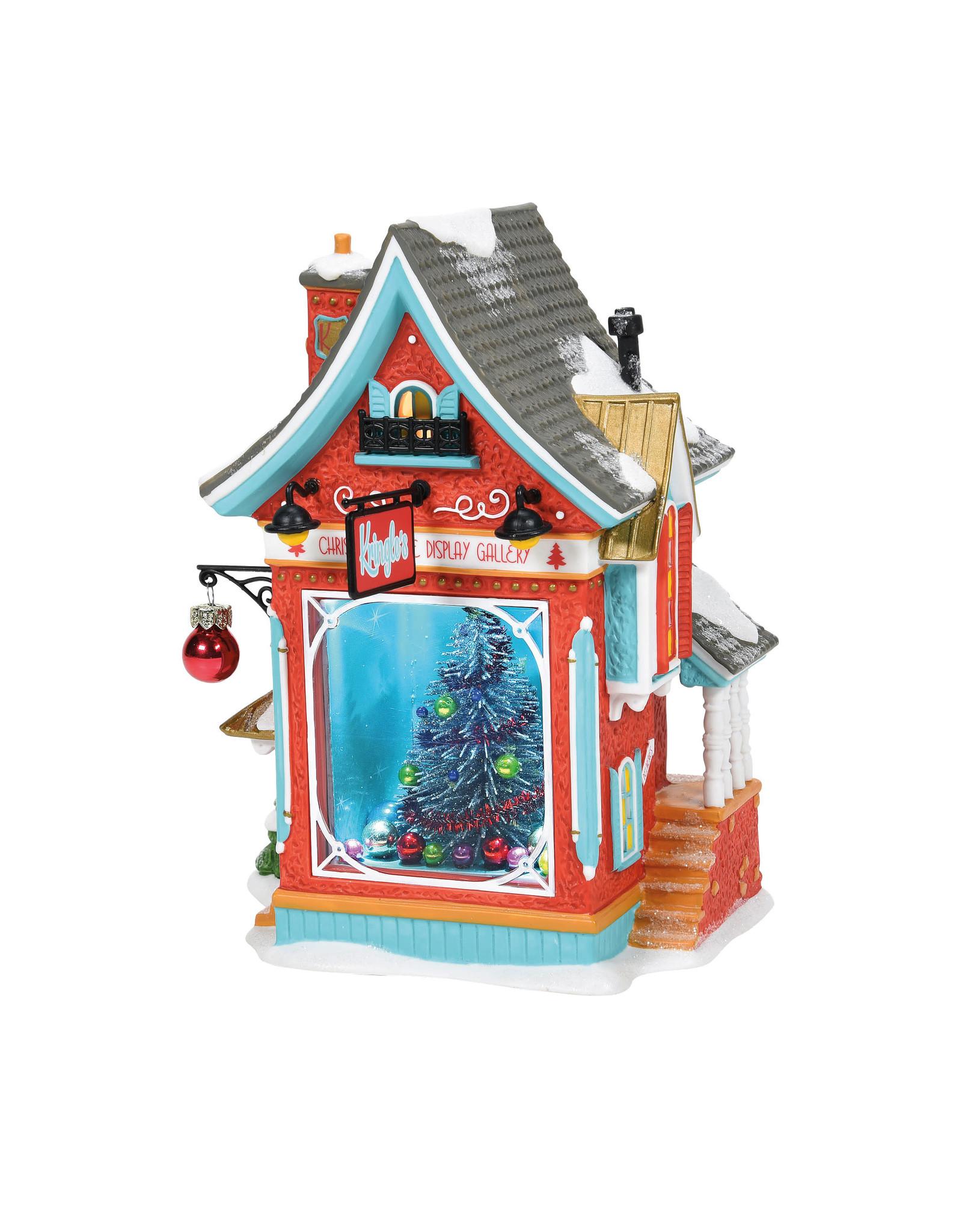 Department 56 Kringle's Christmas Tree Display Gallery