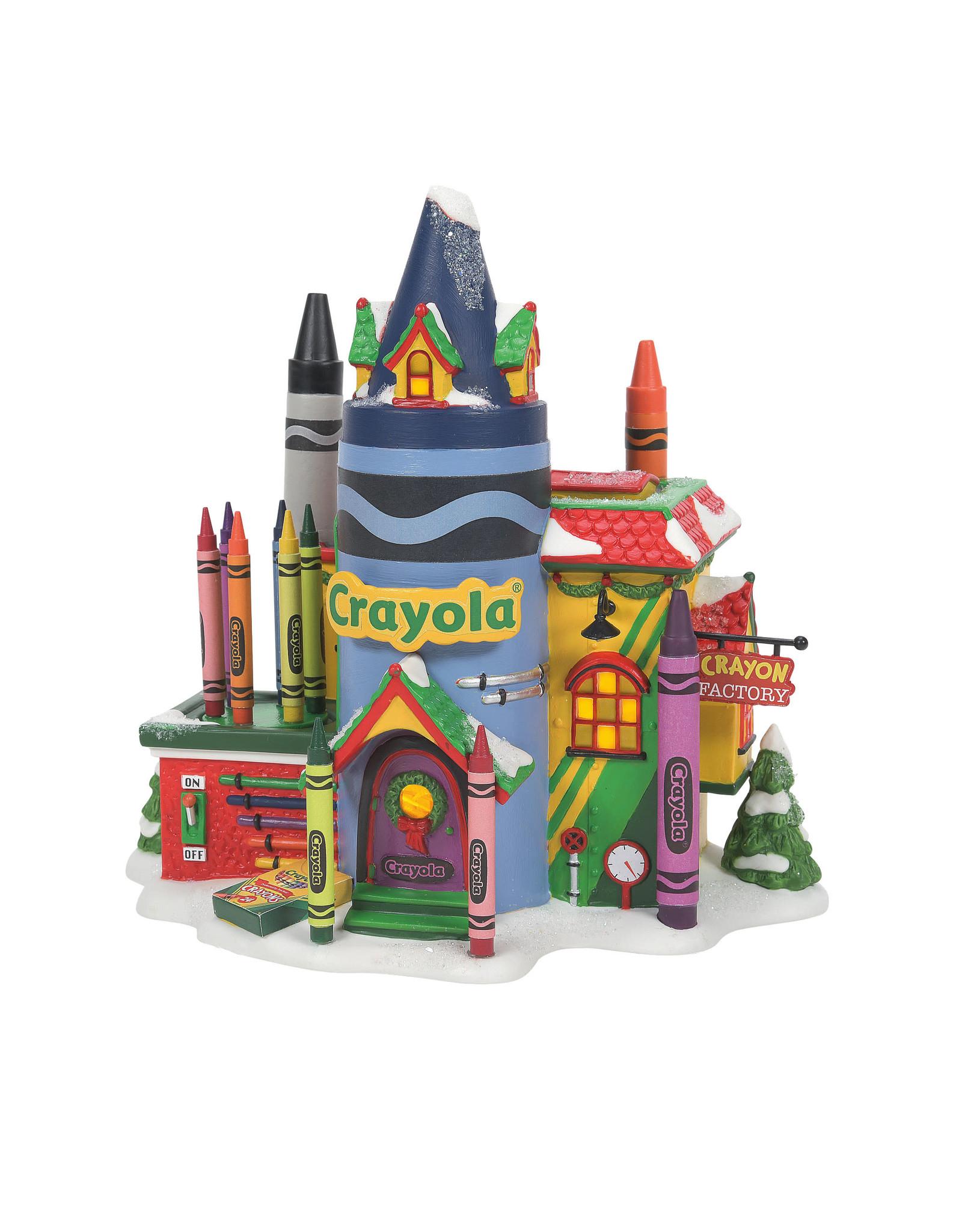Department 56 Crayola Crayon Factory