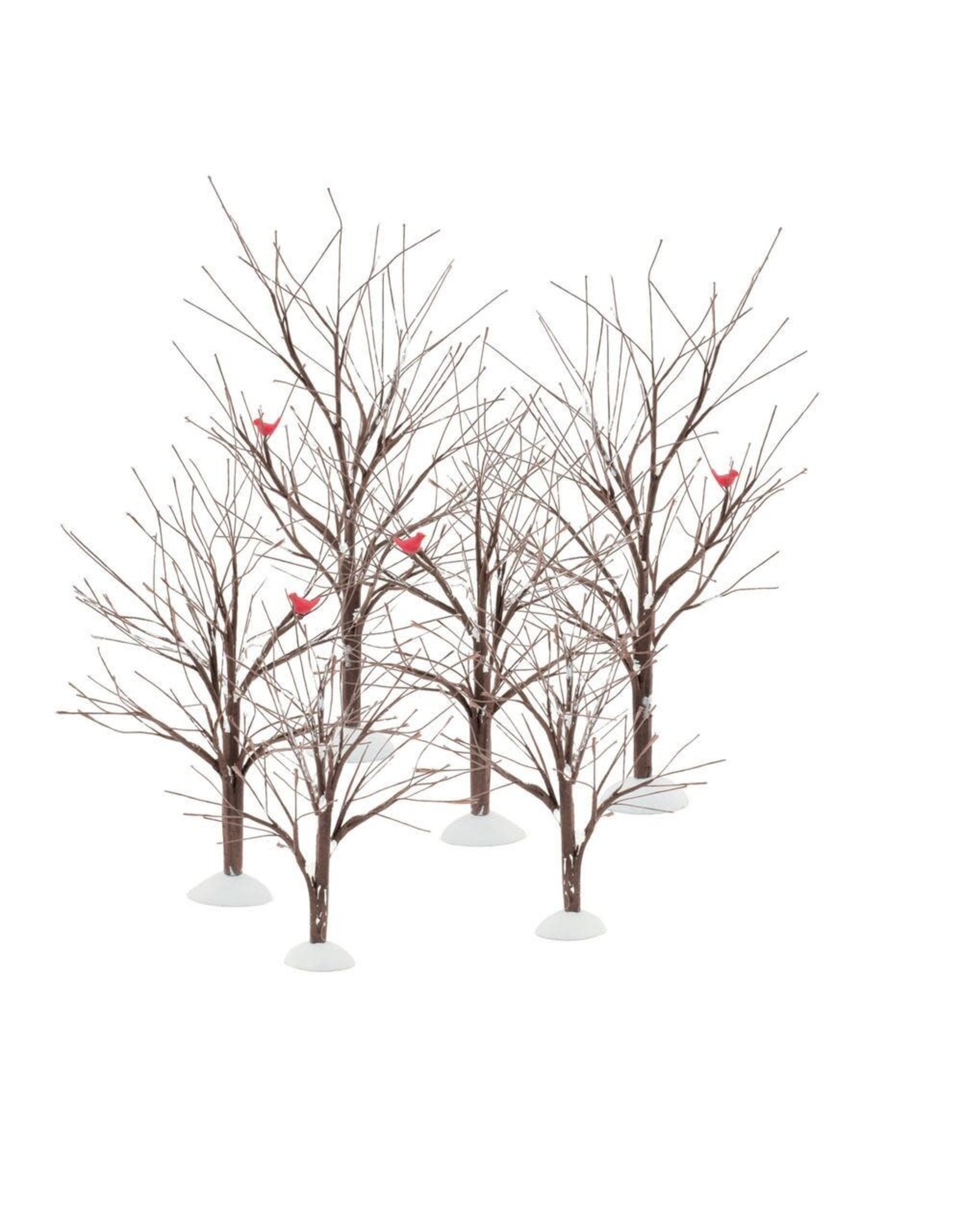 Department 56 Bare Branch Trees (set of 6)