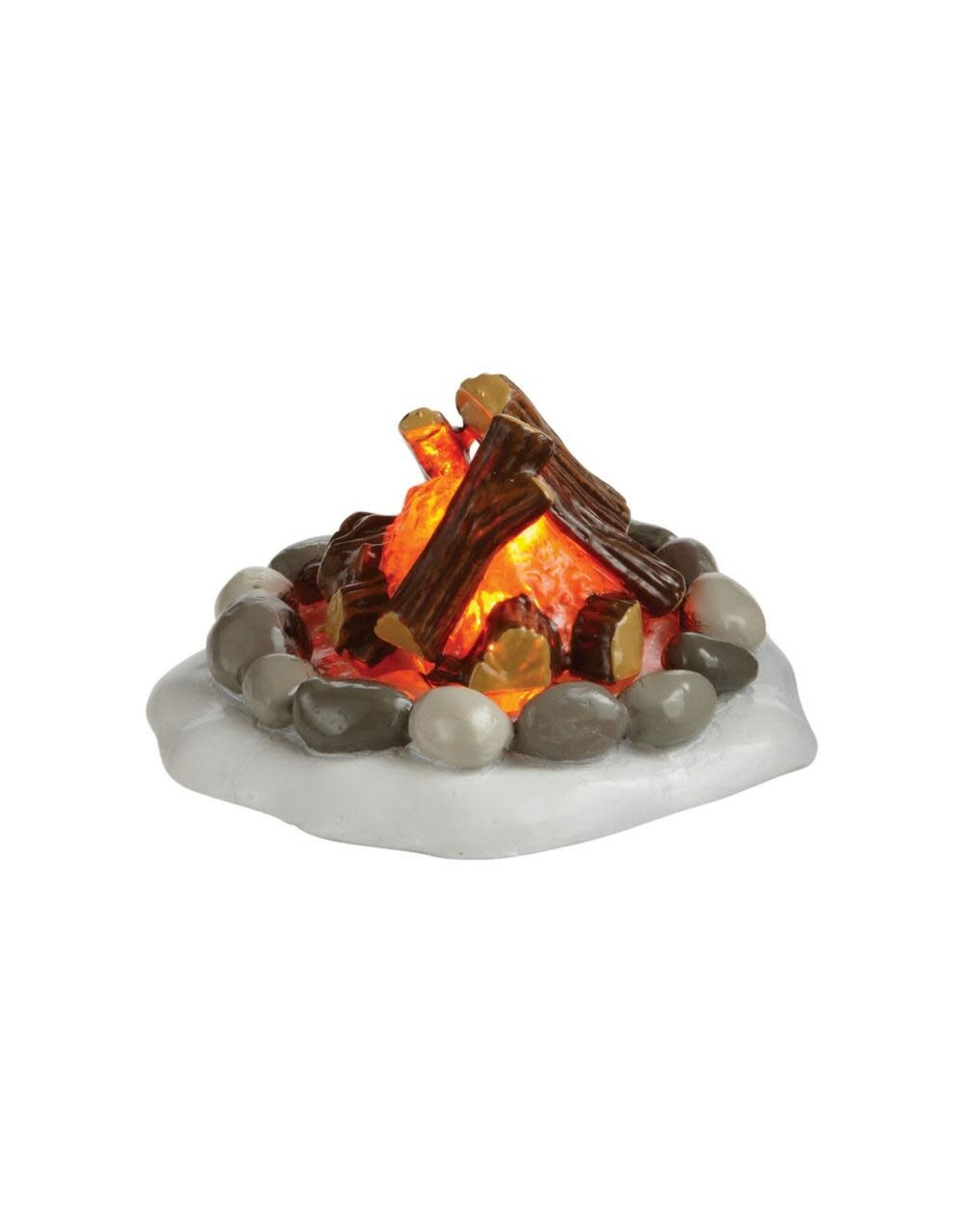 Enesco Lit Fire Pit