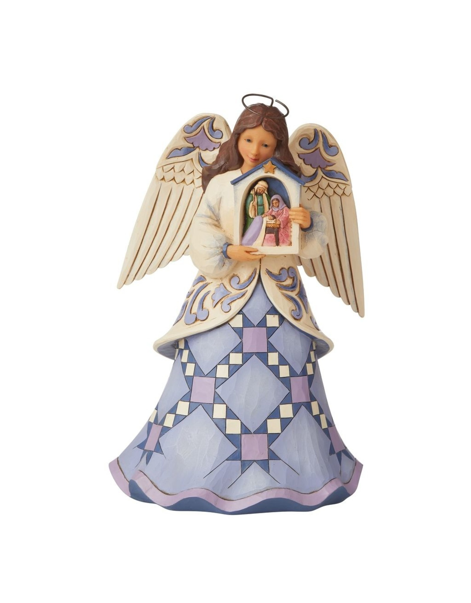 Jim Shore Blessed Savior We Adore Thee Angel