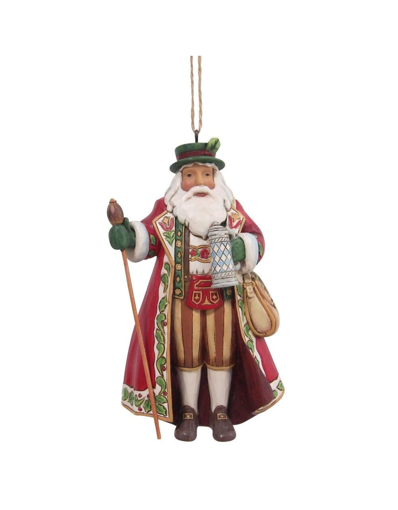 Jim Shore German Santa Ornament