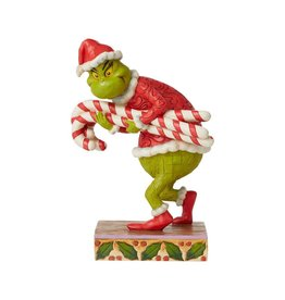 Jim Shore Grinch Stealing Candy Canes