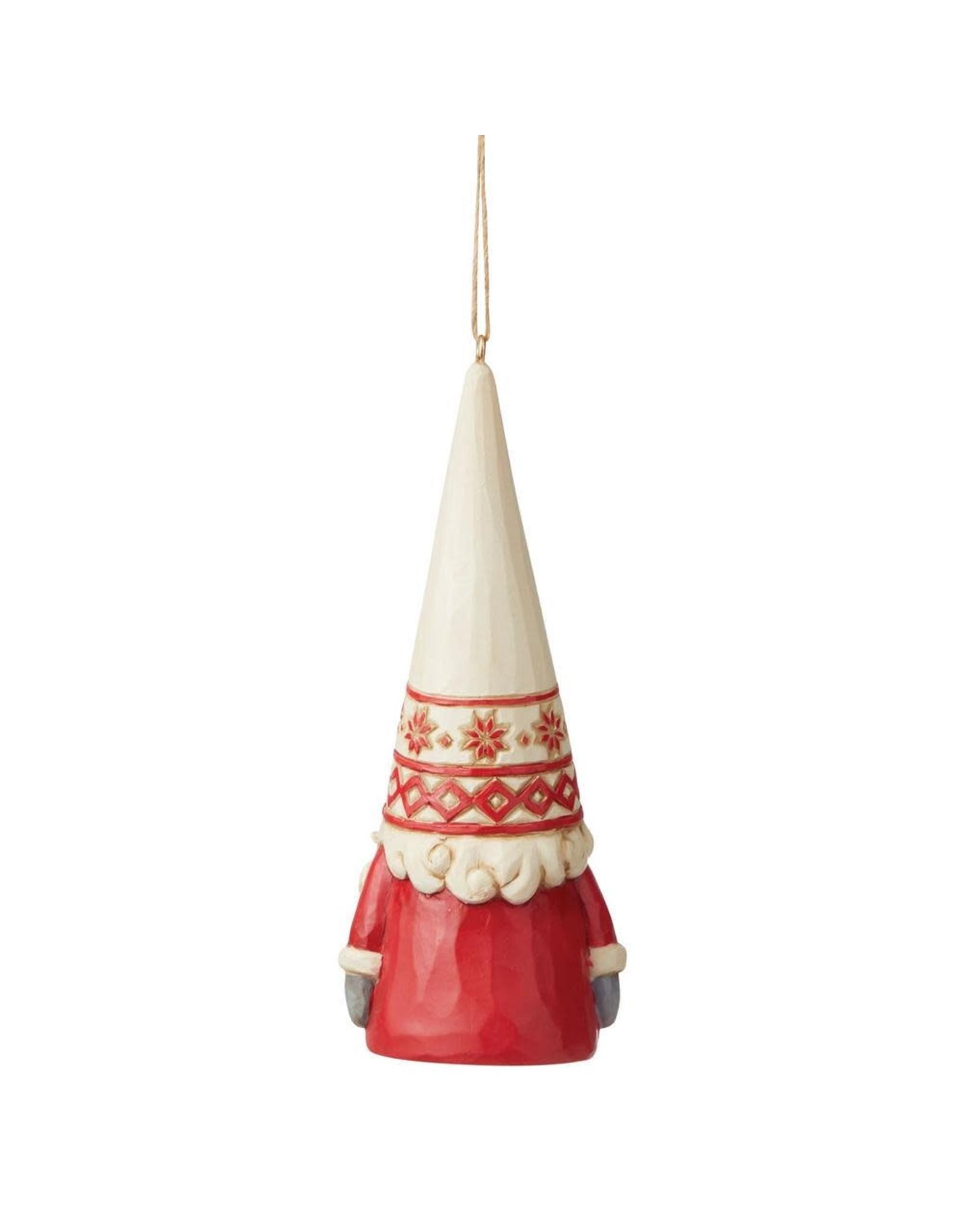 Jim Shore Nordic Noel Gnome Ornament