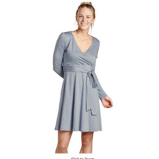 Toad&Co W'S Cue Wrap L/S Dress